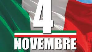 Anniversario dell'Unità Nazionale e delle Forze Armate 4 Novembre