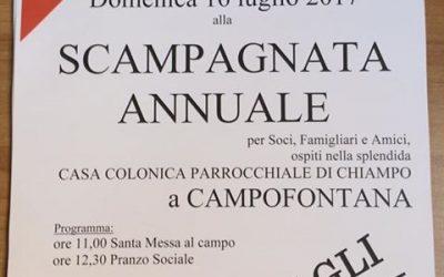Scampagnata Annuale  – 2017